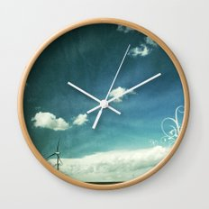 skyred Wall Clock