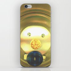 Tea jar smile. iPhone & iPod Skin