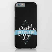 iPhone & iPod Case featuring Sorry But by Oblivion Creative
