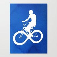 Endless Cycle Canvas Print