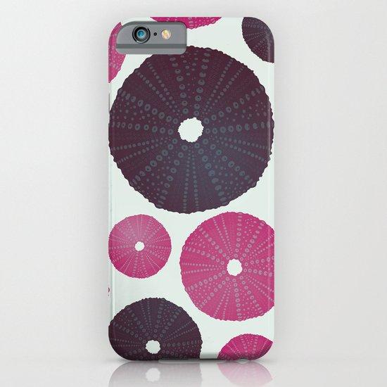 Sea's Design - Urchin Skeleton (Pink & Black) iPhone & iPod Case