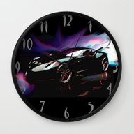 New Ferrari Wall Clock
