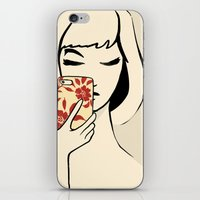 Smartphone Girl iPhone & iPod Skin