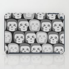 Boo - Skulls Pattern iPad Case