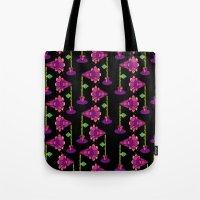 Mega Floral Tote Bag