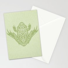 Tribal Leopard Frog Stationery Cards