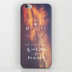 One Direction: Story Of My Life iPhone & iPod Skin