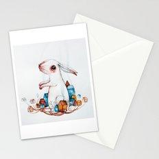 Very big rabbit Stationery Cards