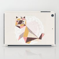 Geometric Cat iPad Case