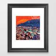 Framed Art Print featuring Stealth by Rendra Sy