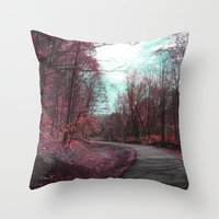 Passing Through II Throw Pillow