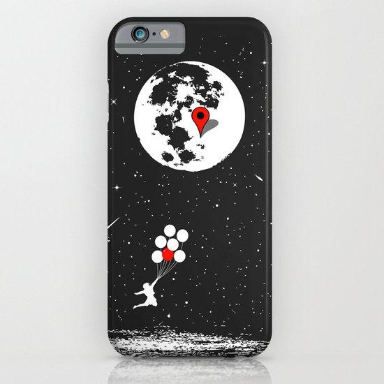 Destination Moon iPhone & iPod Case