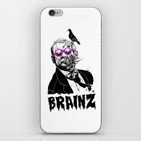 political zombie theme iPhone & iPod Skin