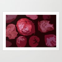 Strawberry land Art Print