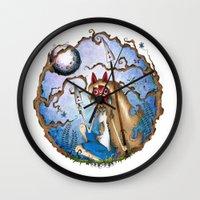 Princess Mononoke Wall Clock