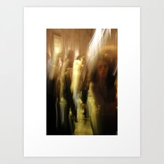 dance/swing Art Print