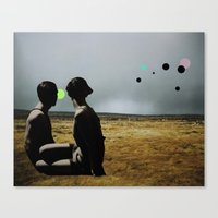 The Looking Field Canvas Print