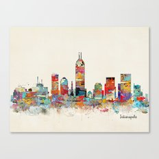 Indianapolis Indiana skyline Canvas Print