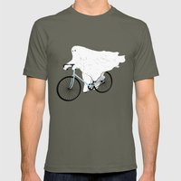 Negative Ghostrider. Mens Fitted Tee Lieutenant SMALL