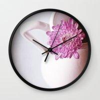 Birthday Flowers  Wall Clock