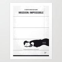 No583 My Mission Impossi… Art Print