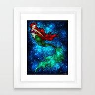 The Mermaids Song Framed Art Print