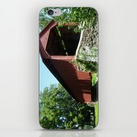 A Bridge In The Country iPhone & iPod Skin