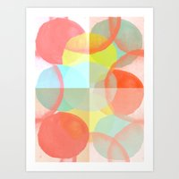 Marshmallows Art Print