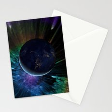 You Run to Catch Up With the Sun (But It's Sinking) Stationery Cards
