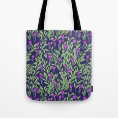 April blooms(Lavender_blue) Tote Bag