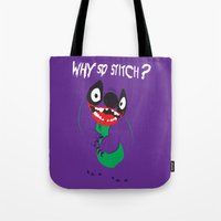 Why So Stitch? Tote Bag