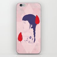Skull+face iPhone & iPod Skin