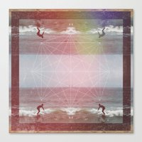 Surf Every Day Canvas Print