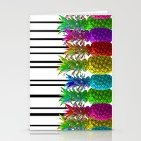 Neon Jungle Stationery Cards