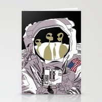Meet Buzz Aldrin Stationery Cards