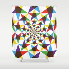 Star Space Shower Curtain