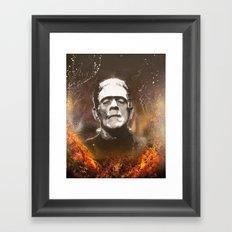 The Monster Framed Art Print