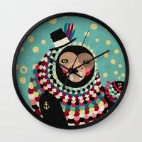 The Walrus Wall Clock