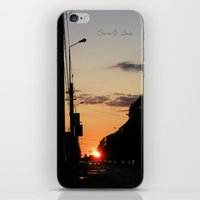 First stop, first sunset iPhone & iPod Skin