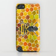 Bee & Honeycomb iPod touch Slim Case