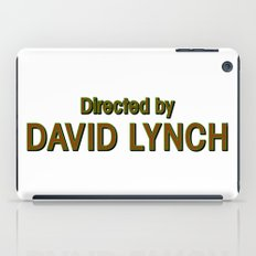 Directed by David Lynch iPad Case