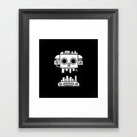 Mechanical Jolly Roger - PM Framed Art Print