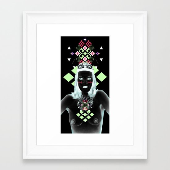 ::Elements of Space:: Framed Art Print