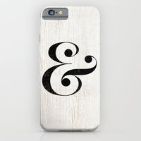 iPhone & iPod Case featuring Ampersand by Crea Bisontine