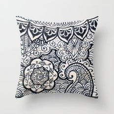 Four sides of a box (iv) Throw Pillow