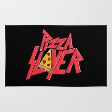 Pizza Slayer Rug