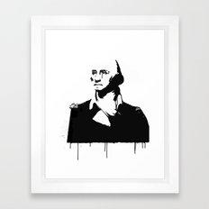 George Washingtear Framed Art Print