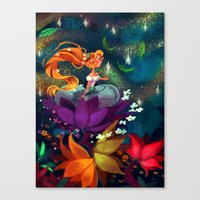 Thumbelina Canvas Print