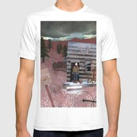 Molson Mens Fitted Tee White SMALL