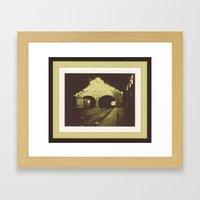 Outbound Freight Framed Art Print